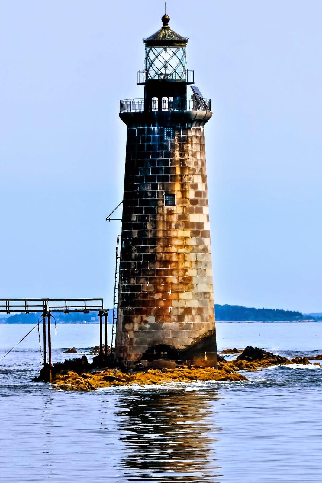 Maine Lighthouses And Beyond Ram Island Ledge Lighthouse