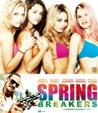 Spring Breakers movie starring James franco, Vanessa Hudgens, Selena Gomez, Ashley Benson and Rachel Korine.