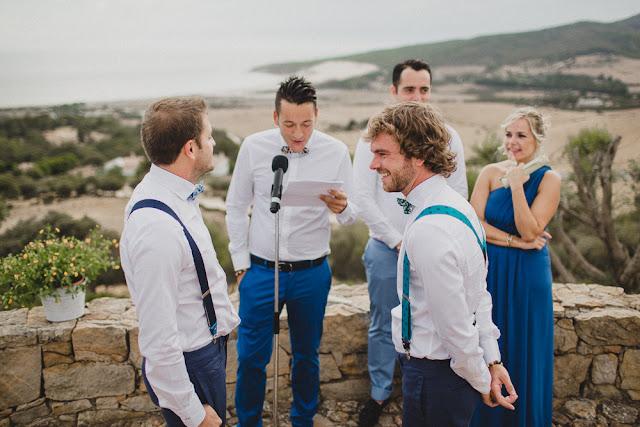 Boda gay Jose y Moises en Tarifa - Blog de Bodas - Blog Mi Boda