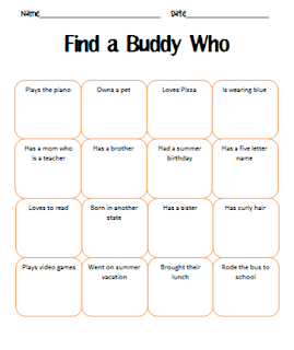 Find Someone Who Bingo - Teaching With Simplicity