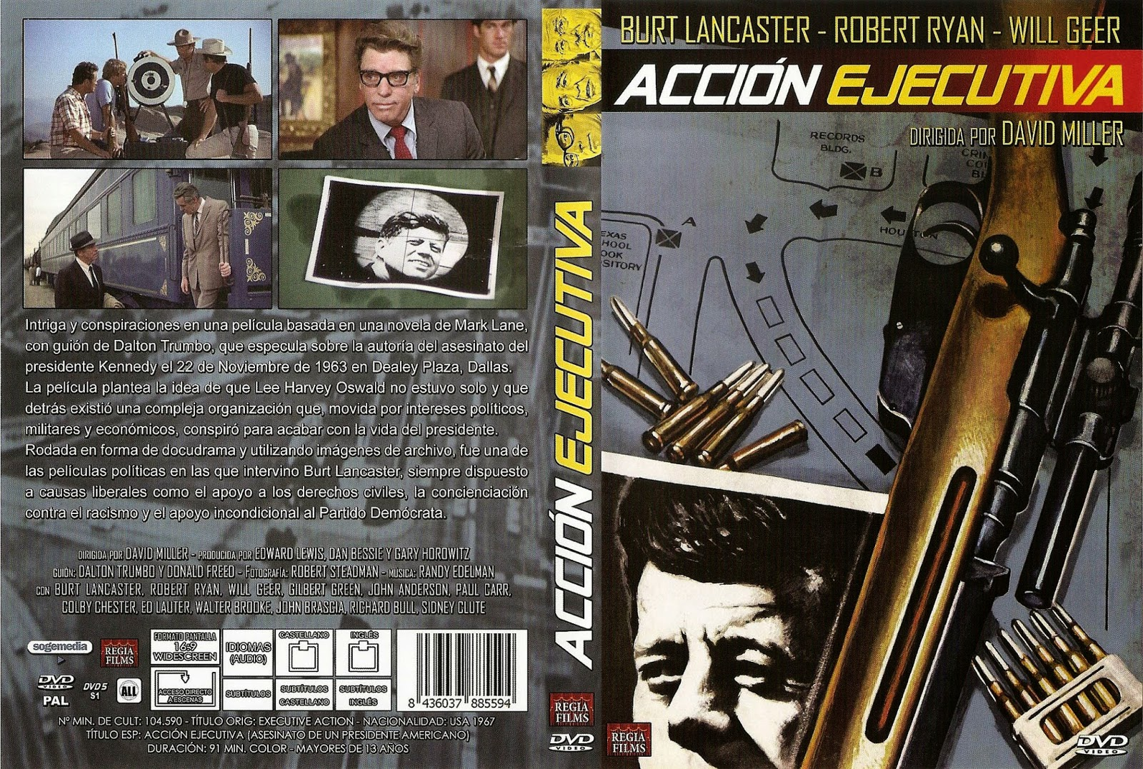 Acción ejecutiva | 1973 | Caratula