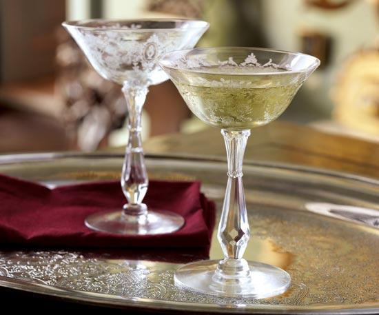 Amor en la mesa la copa de champagne for Copas para champagne