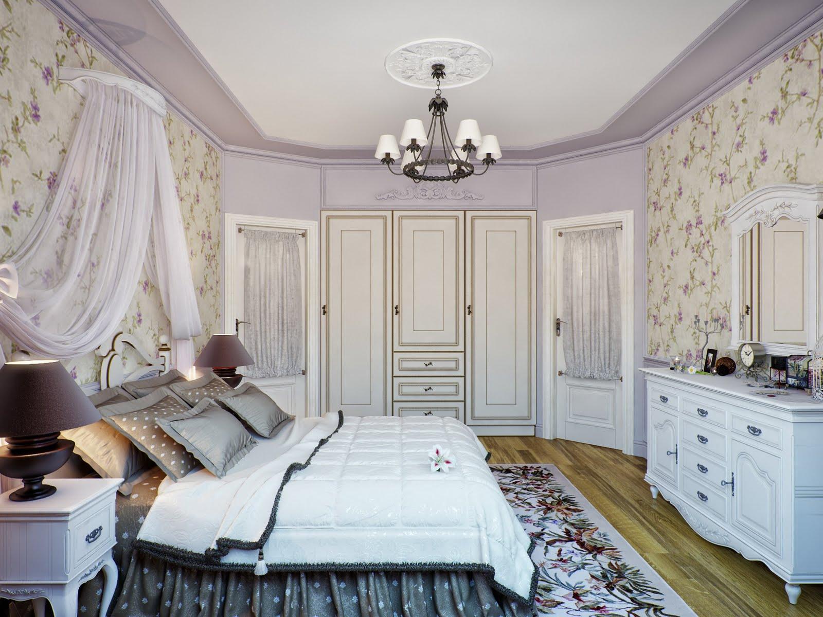 Спальня прованс фото