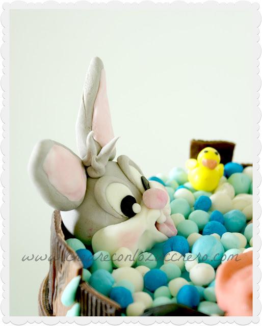 Creare con lo Zucchero: Baby Looney Tunes per Marco