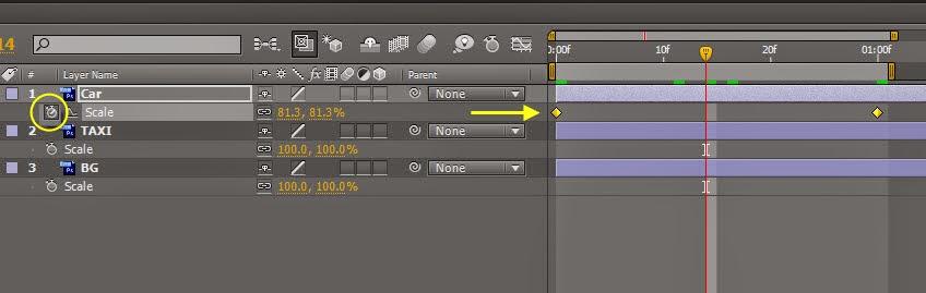 AE Animation 101 Keyframe Tip 02
