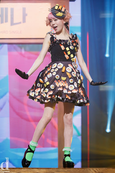 Orange Caramel Lizzy Catallena Live M! Countdown 140313