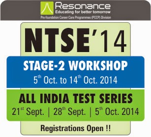 NTSE Stage-2 Workshop @ PCCP