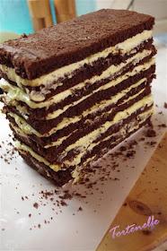 Schoko- Kuchen für Motivtorte