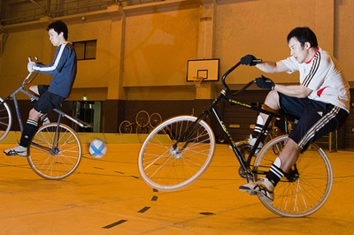 Cycle Soccer