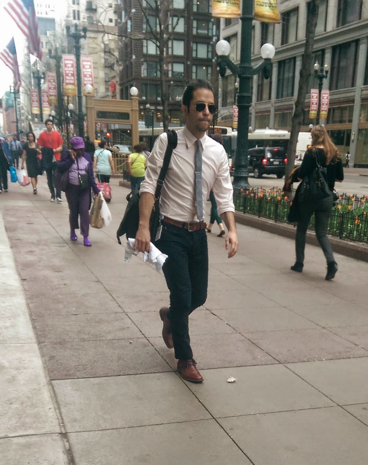 chicago street style menswear rogues brogues blog