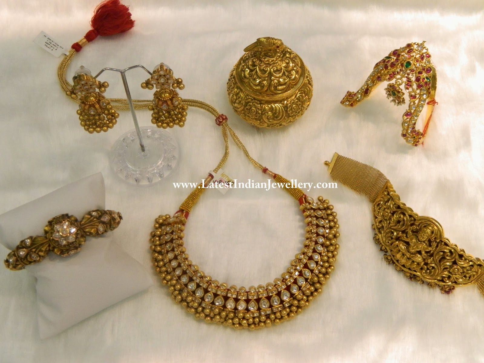 22kt indian gold jewelry