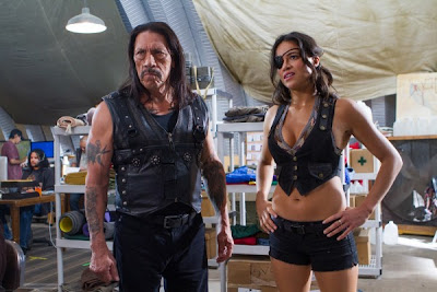 Michelle Rodriguez Danny Trejo Machete Kills
