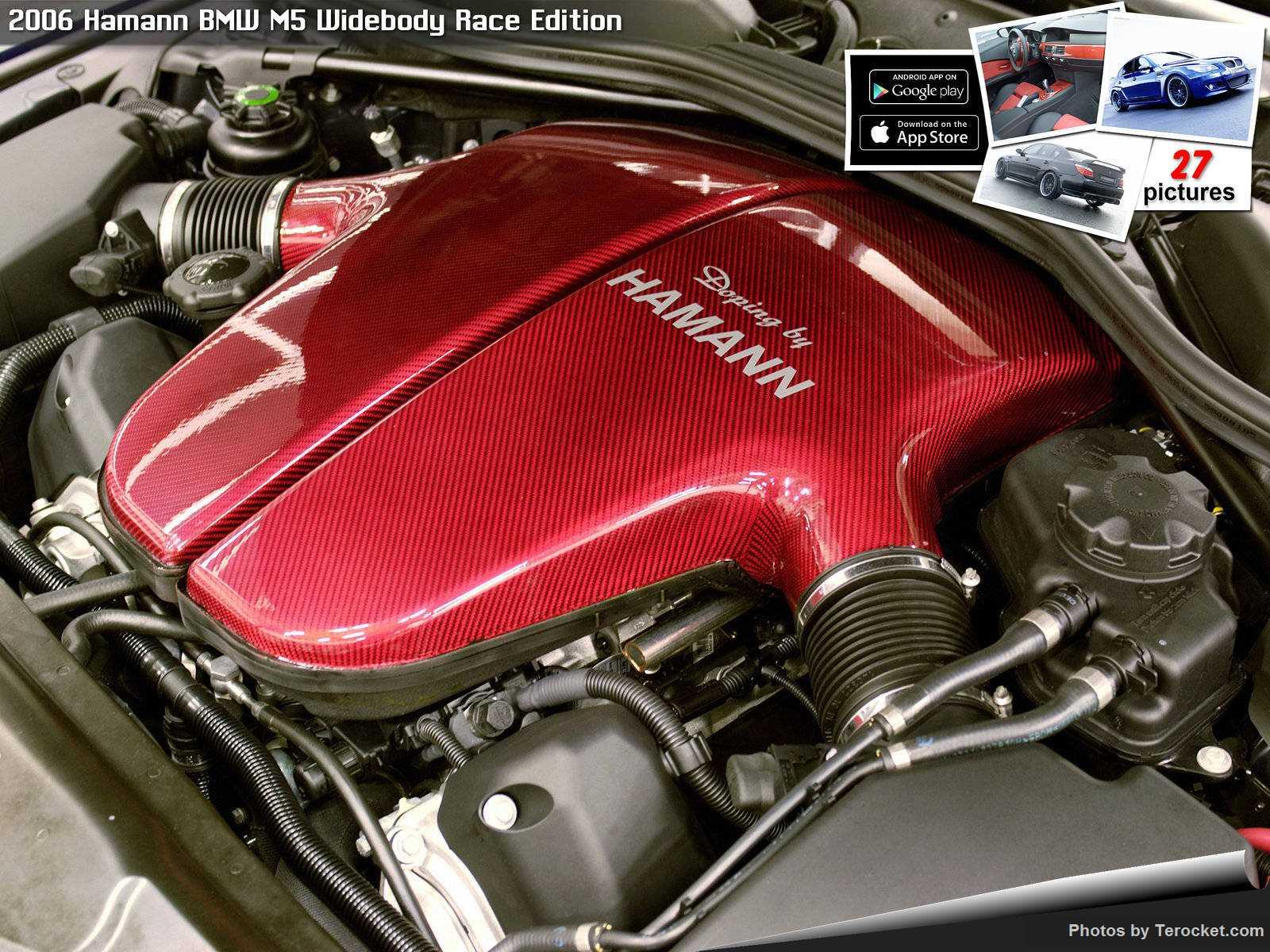 Hình ảnh xe ô tô Hamann BMW M5 Widebody Race Edition 2006 & nội ngoại thất