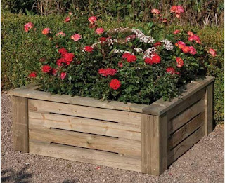 Heavy Duty Raised Planter Rowlinson