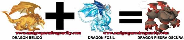 como hacer el dragon piedra oscura en dragon city formula 1