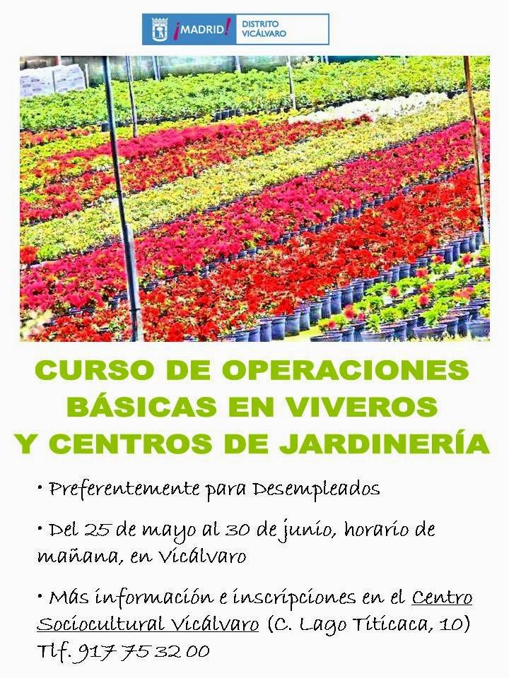 Curso gratuito de operaciones b sicas en viveros y centros for Curso jardineria