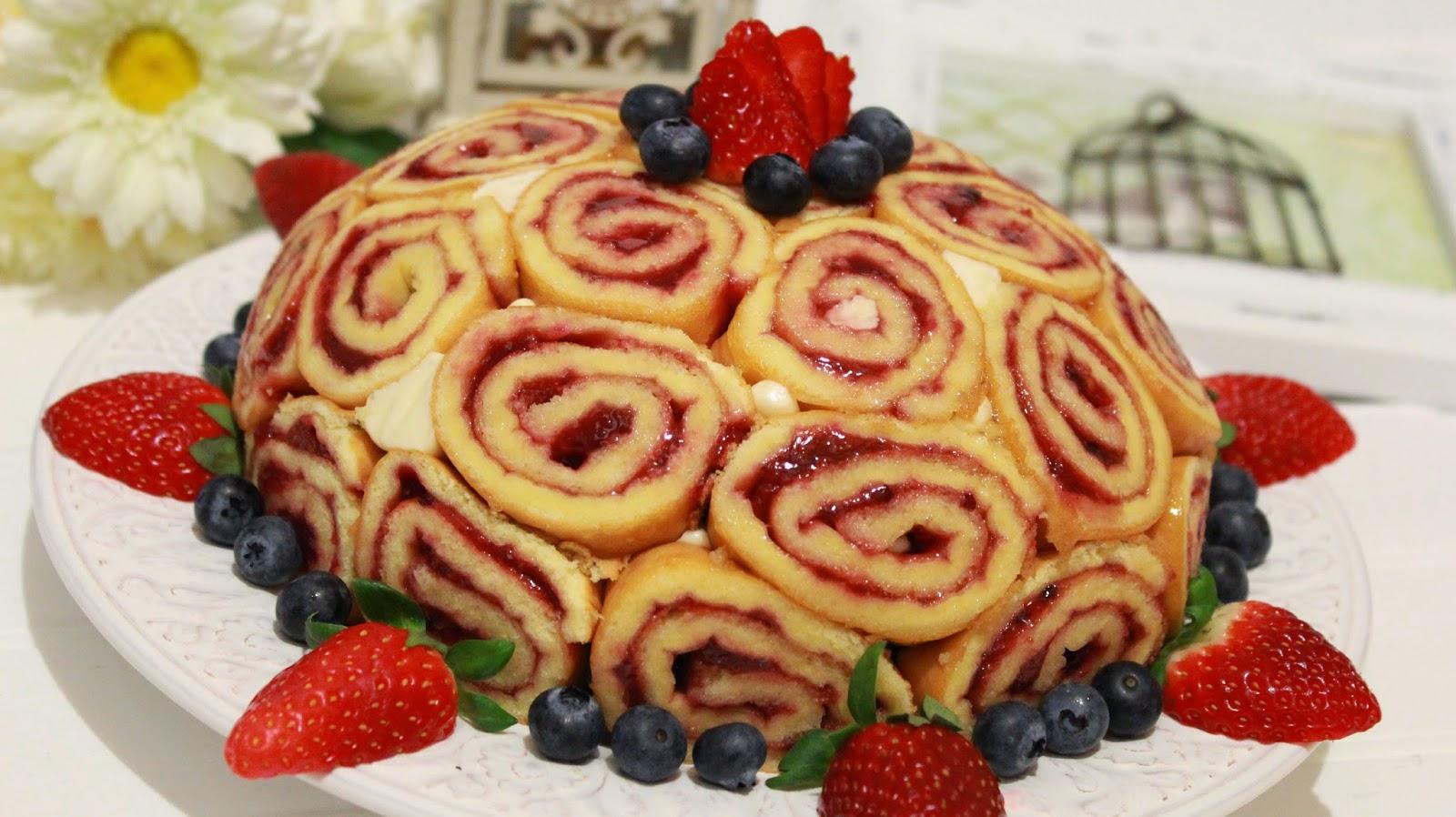 tarta frutos rojos