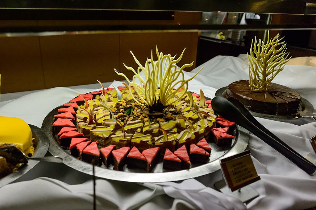 Norwegian's Signature Chocoholic Buffet