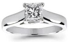 Princess Cut Diamond Engagement Rings Picture
