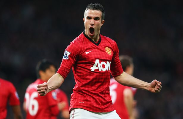 Star: Robin van Persie netted 26 times for United in the 2012-13 campaign