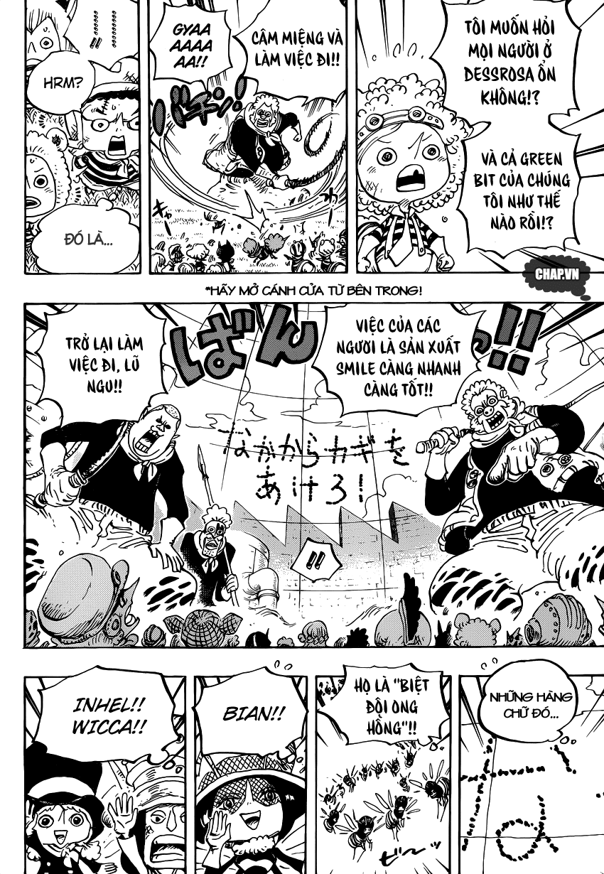 One Piece Chapter 753: Tác chiến 010