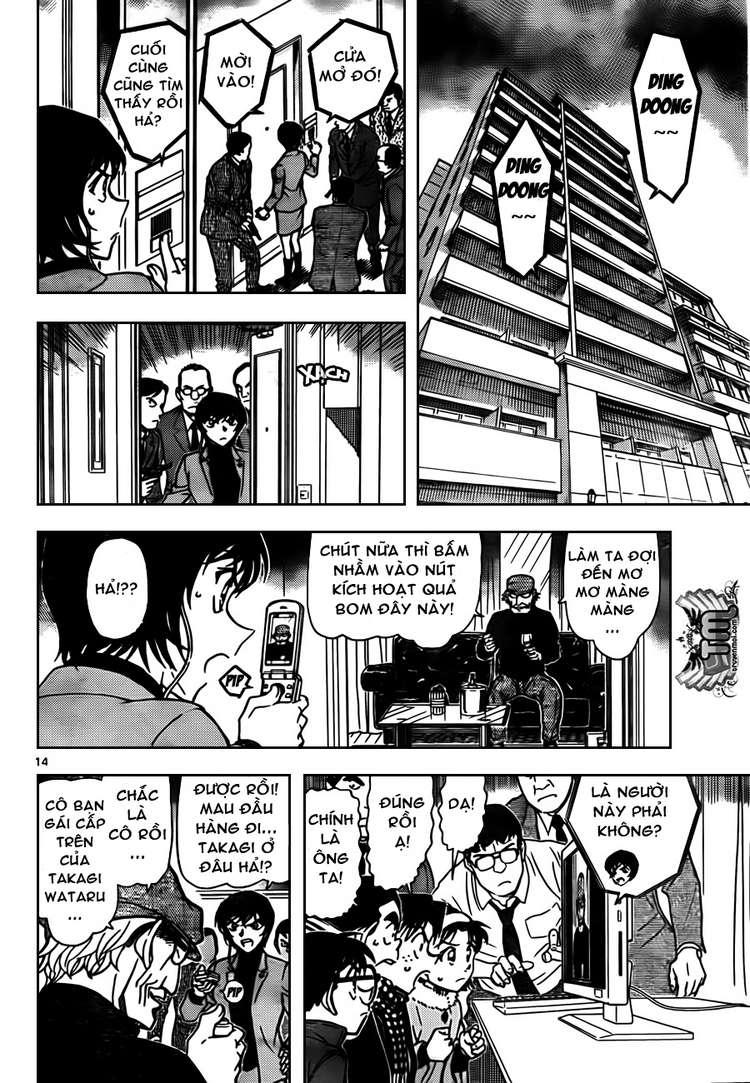 Detective Conan - Thám Tử Lừng Danh Conan chap 806 page 14 - IZTruyenTranh.com