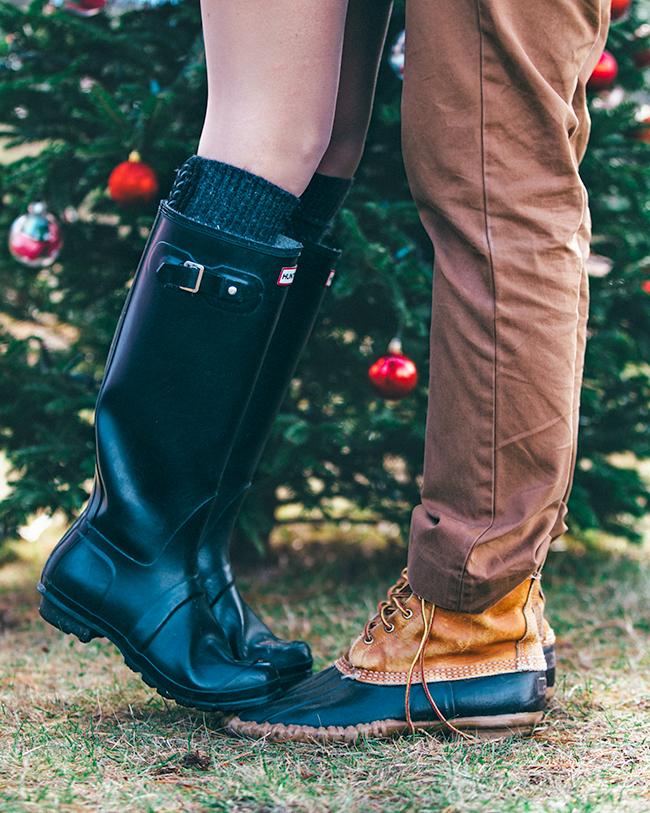 christmas look legs