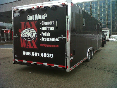 Jax Wax arrives at Chicago World of Wheels