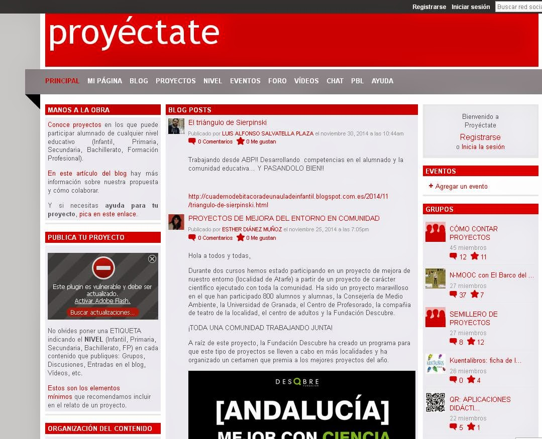 http://proyectate.ning.com/