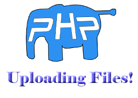 uploading files in PHP
