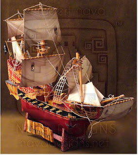 Wicked Wench Papercraft - The Black Pearl