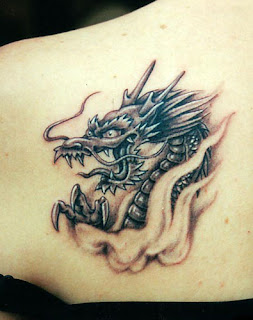 Small Dragon Tattoo Design For Girljpg