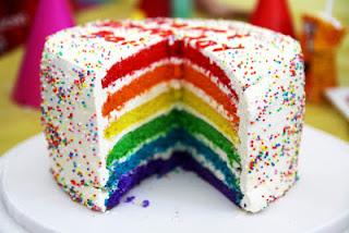 Resep Lengkap Rainbow Cake Kukus