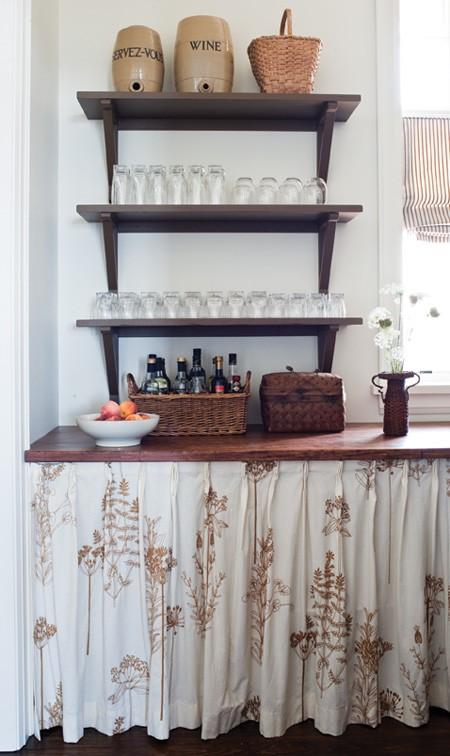 vignette design: Kitchen Cabinets vs. Open Shelves and the Art of ...