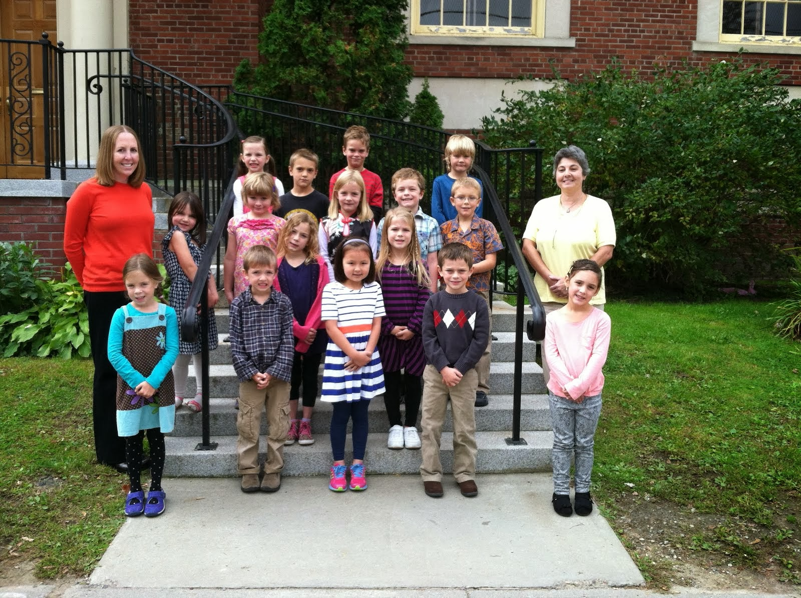 Picture Day Class Picture- First Grade