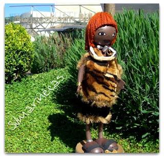fofucha de la étnia Hamer de Etiopía-