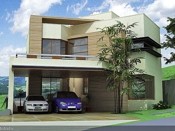 My Home Front Elevation : D front elevation kanal house