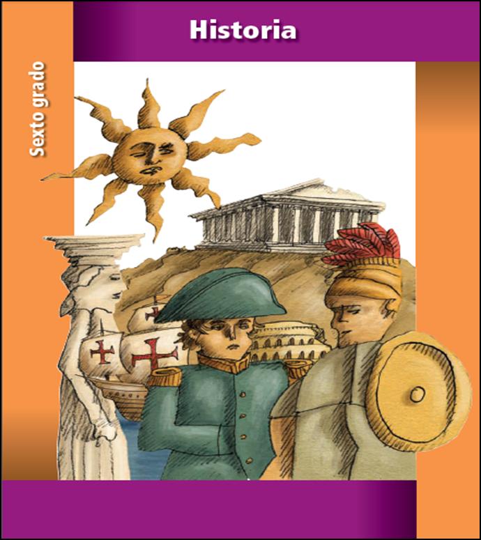Libro de texto de historia para sexto grado (2013 - 2014)