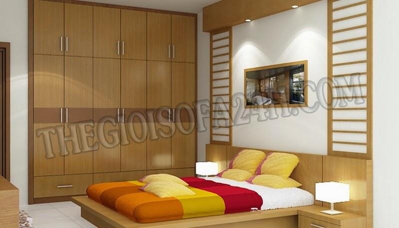 Giường ngủ GN041