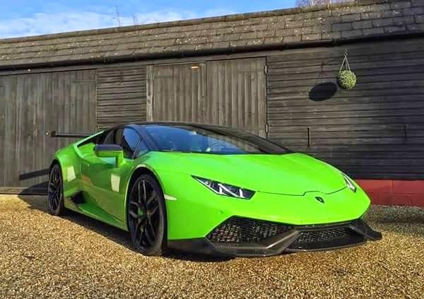 Lamborghini Huracán Oakley Design