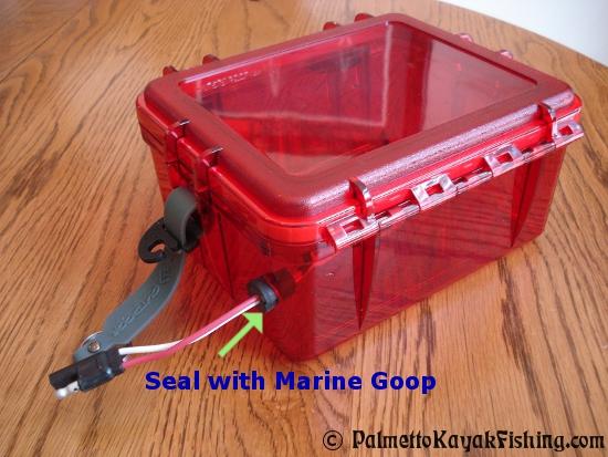 diy battery box for kayak 2