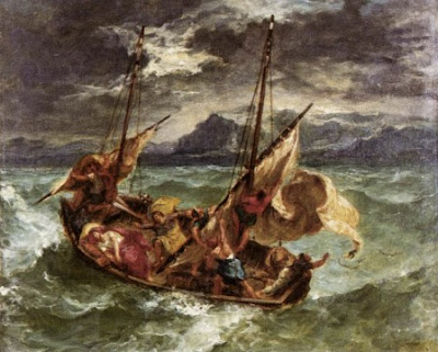 comparing the two paintings watteaus the storm and delacroixs christ on the sea of galilee Christ in galilee attempt of' the people chapter i to kill him  the bible is christians, and is divided into two distinct hence usually termed the sacred.