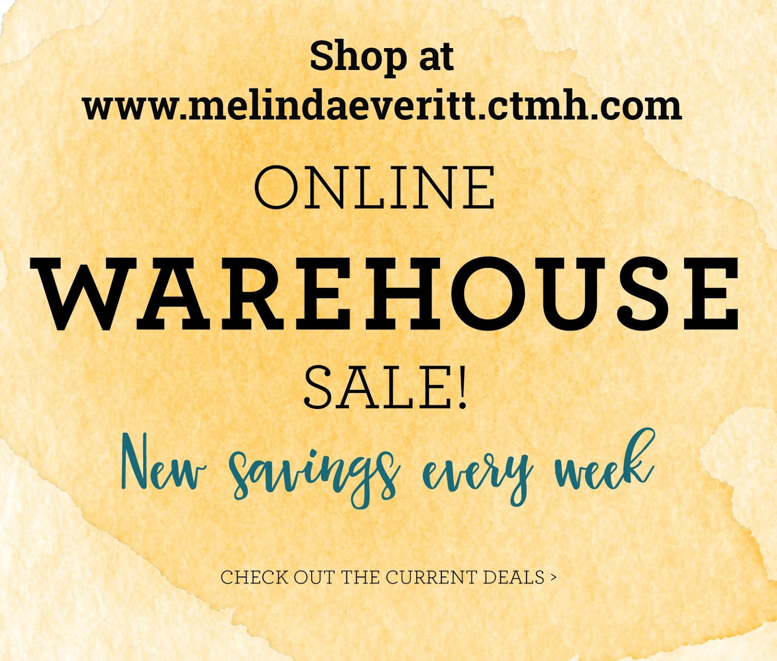 August Online Warehouse Sale