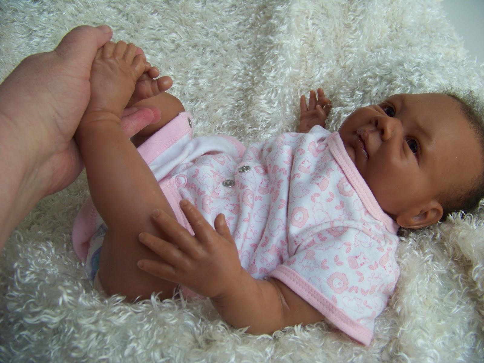 Crafty Kat More Photos Of Biracial Reborn Baby Doll Jada