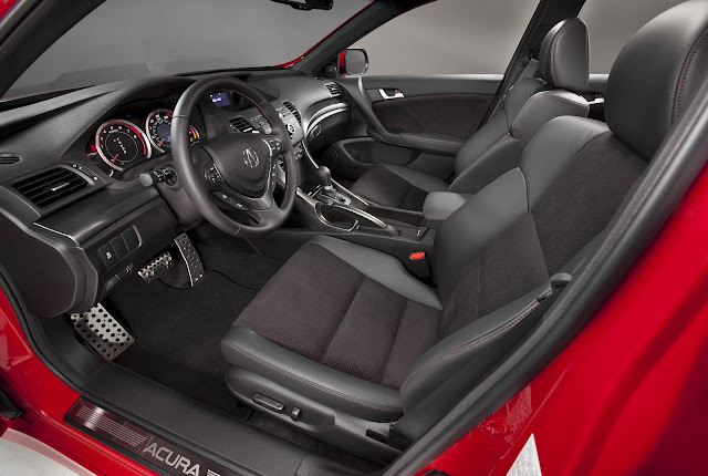 Interior of the 2012 Acura TSX