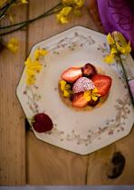 Finesse fraise... Tartelette feuilletée à la fraise