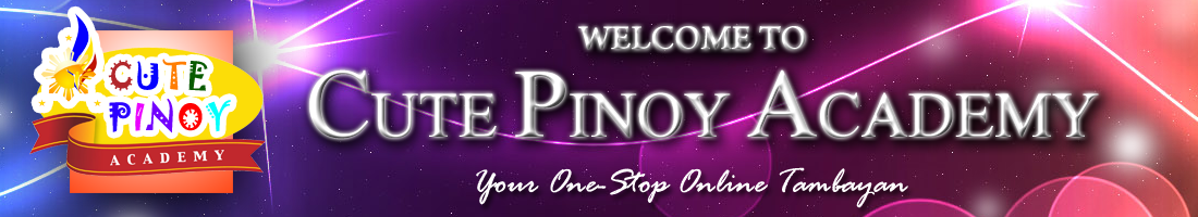 Welcome to Cute Pinoy Academy - Your One-Stop Online Tambayan