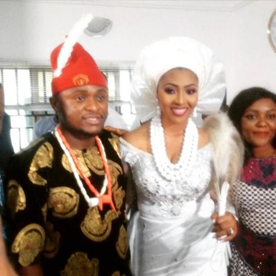 wedding of Lilian Esoro and Ubi