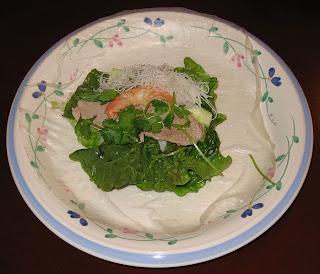 Le canard du m kong popiah la version vietnamienne for The east asian dining t nagar