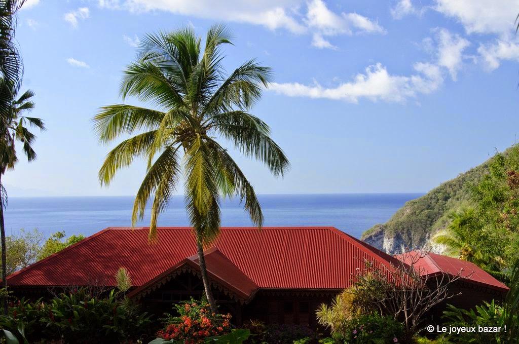 Guadeloupe  -Deshaies - jardin botanique